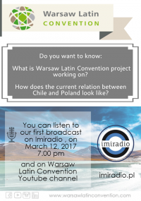 Program specjalny: Warsaw Latin Convention on IMI Radio!